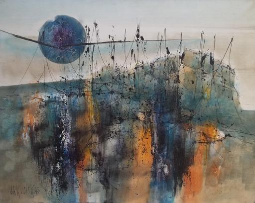 Jan VAKOWSKAI - Peinture - jeux d'ombres