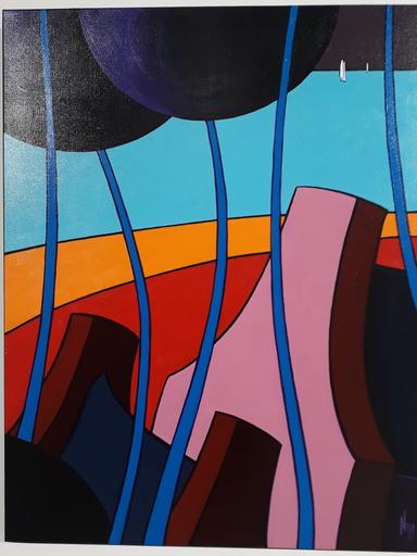 Gérard NEYB - Painting - AMER