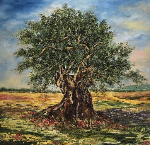 Diana MALIVANI - Pittura - Olive Tree