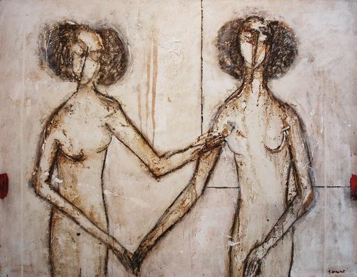 James COIGNARD - Pintura - Gabrielle d'Estrée