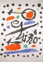 "胡安·米罗 - 版画 - ""AVANT LETTRE , 1964"""