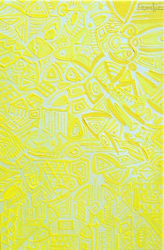 Carlo VANCHIERI - Painting - Giallo D.