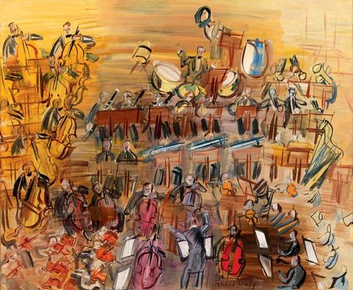 Raoul DUFY - Painting - Le Grand orchestre