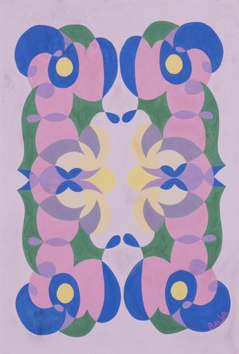Giacomo BALLA - Pintura - Linee andamentali - motivo per tappeto