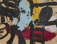 Alan DAVIE - Peinture - Pittura 1a