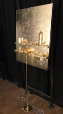 Paul SIBUET - Sculpture-Volume - Flow Gold