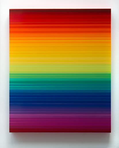 Thierry FEUZ - Painting - Technicolor Horizon I