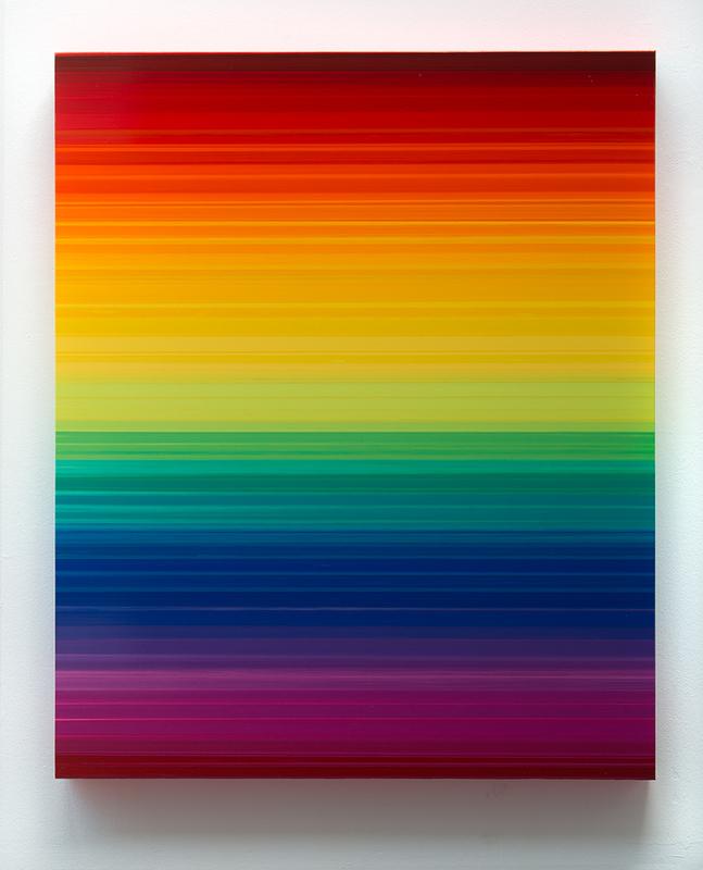Thierry FEUZ - Pittura - Technicolor Horizon I