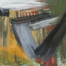 Michael ARGOV - Dibujo Acuarela - Abstract Composition