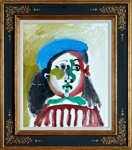 Pablo PICASSO - Pintura - Fillette - Not for Sale