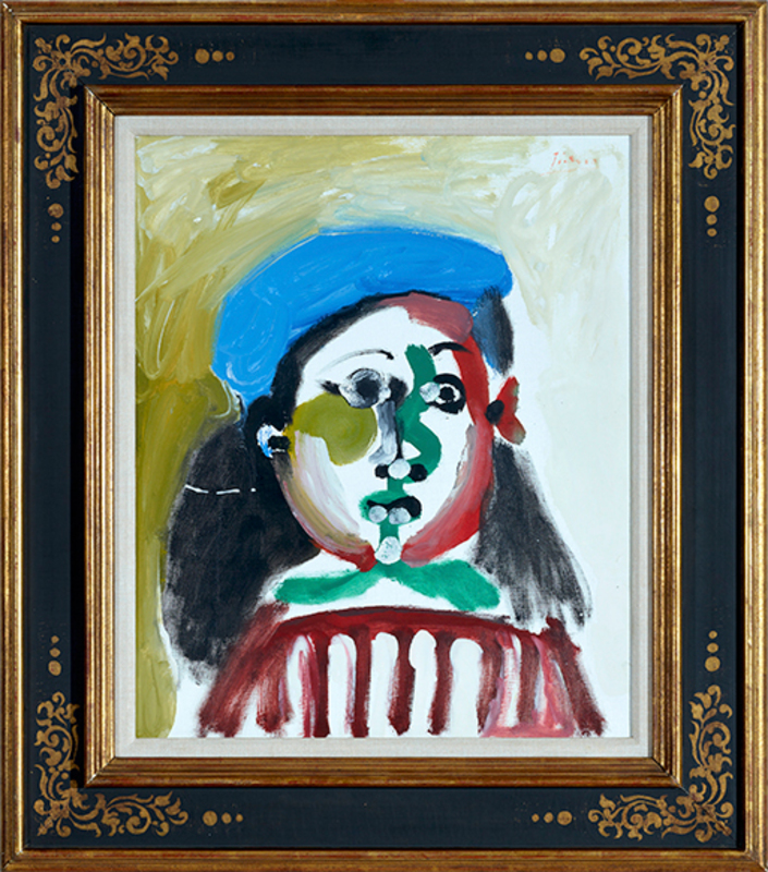 Pablo PICASSO - Painting - Fillette - Not for Sale