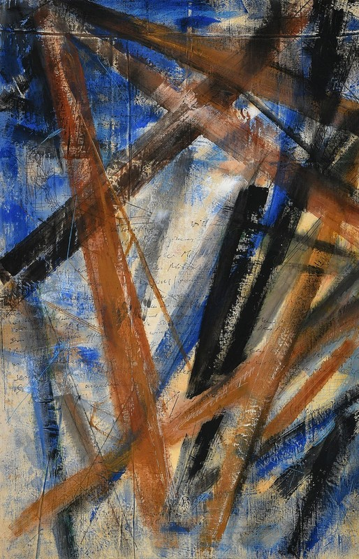 Robert KABAS - Painting - Blauer Salon