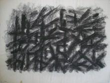Jacques GERMAIN - Drawing-Watercolor - Composition JG 23 85