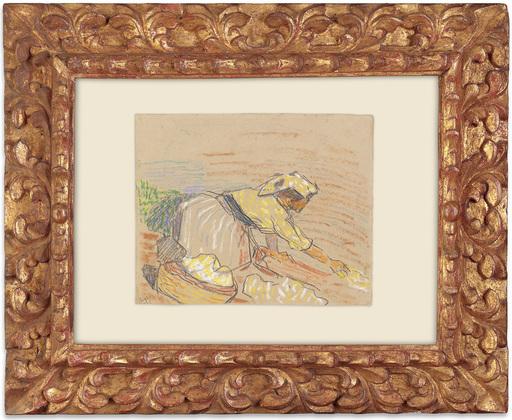 Otto VAN REES - Drawing-Watercolor - Aan de was