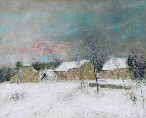 Bernard GANTNER - Pintura - Neige