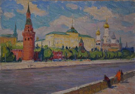 Valerian Stepanovich NESTEROV - Gemälde - Moscow cityscape