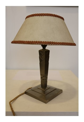 Edgar BRANDT - Lampe de bureau