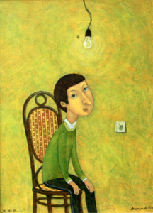 Roman ANTONOV - Painting - Zh..Zh..Zh..