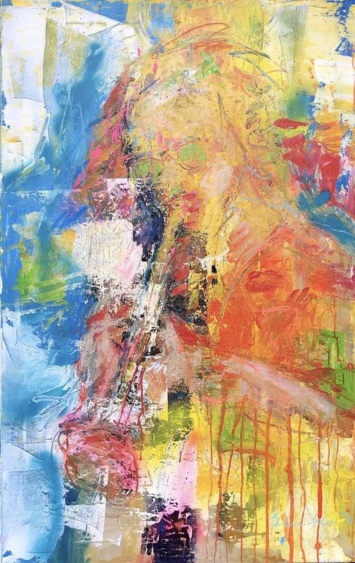 Nicole LEIDENFROST - Gemälde - Passion for music