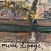 Pierre LEPAGE - Peinture - Notre Dame vue des quais de la Seine, 1940-1950