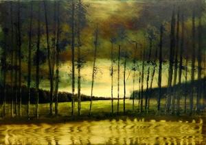 Eric HERRMANN - Gemälde - Promenade avec lise...hier n° 7
