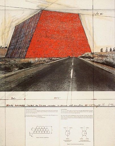 CHRISTO - Print-Multiple - Texas Mastaba