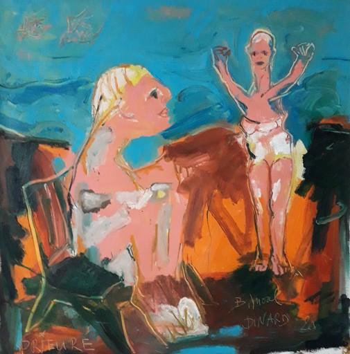 Bernard MOREL - Pintura - PLAGE.LE PRIEURE...DINARD
