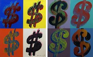 Andy WARHOL - Grabado - $ (QUADRANT) FS II.283-384