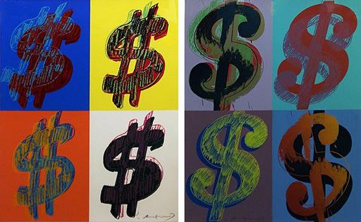 安迪·沃霍尔 - 版画 - $ (QUADRANT) FS II.283-384