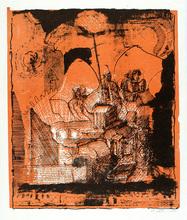 Peter ACKERMANN - Print-Multiple - Ohne Titel (Stadt) von Peter Ackermann