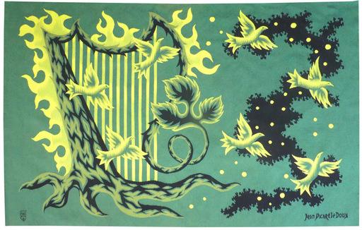 Jean PICART LE DOUX - Tapestry - Concert des oiseaux