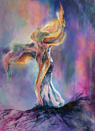 Françoise DUGOURD CAPUT - Painting - Les ailes d'Isis