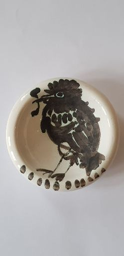 Pablo PICASSO - Ceramic - Oiseau au ver