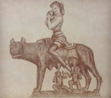 Vladimir KOLESNIKOV - Pintura - Lupa Capitolina