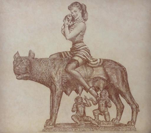 Vladimir KOLESNIKOV - Painting - Lupa Capitolina