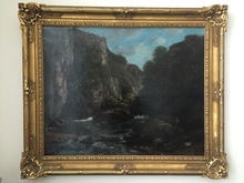 Gustave COURBET - Peinture - paysage