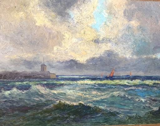 Pierre Philippe BERTRAND - Peinture - Côte de Bretagne