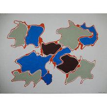 Giulio TURCATO - Painting - Arcipelago
