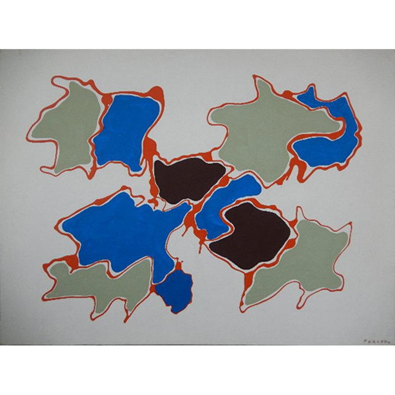 Giulio TURCATO - Gemälde - Arcipelago