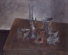 Yosl BERGNER - Pintura - Still life