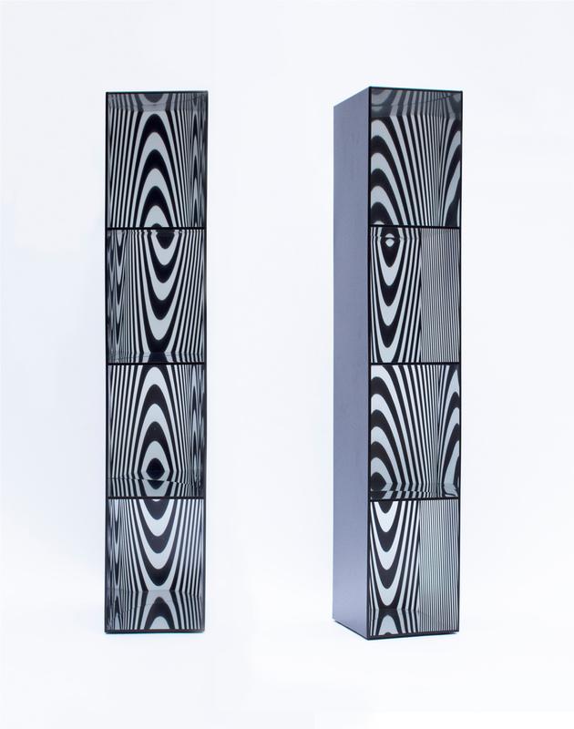 Julio LE PARC - Escultura - Formes virtuelles par déplacement d'après un theme de 1966