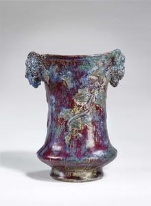 """Adrien DALPAYRAT - """"Vase au lierre"""", circa 1904-1906"""