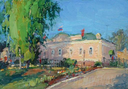 Yuriy DEMIYANOV - Gemälde - avant les vacances