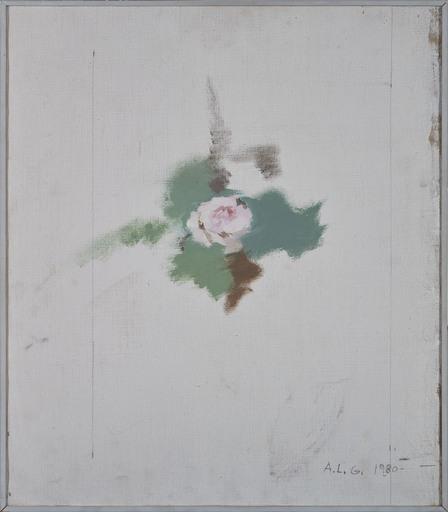 Antonio LÓPEZ GARCÍA - Painting - Rose