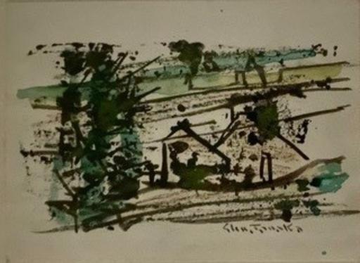 Shu TANAKA - Dibujo Acuarela - COMPOSITION