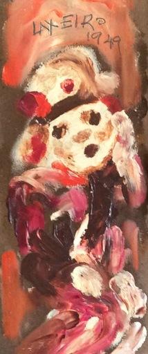 José Otero Abeledo LAXEIRO - Pittura - Figura