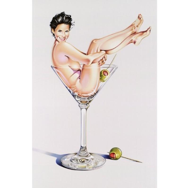 Mel RAMOS - Druckgrafik-Multiple - Martini Miss