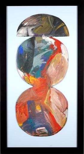 Jan BERDYSZAK - Gemälde - Composition of Circles