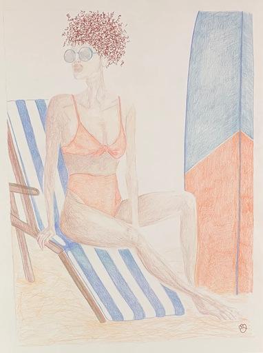 Manon GRIBOUILLE - Disegno Acquarello - Biki