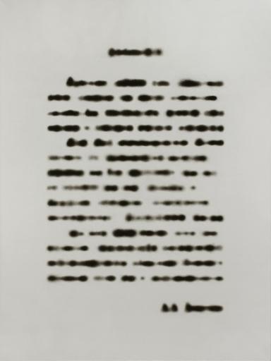 Rinat VOLIGAMSI - Painting - Texts. Sheet 1